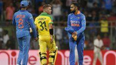Live Streaming India vs Australia 1st ODI: Watch IND vs AUS Live Cricket Match