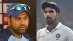 Rohit, Ishant to Miss First Two Tests, Doubtful For Last Two: BCCI Source