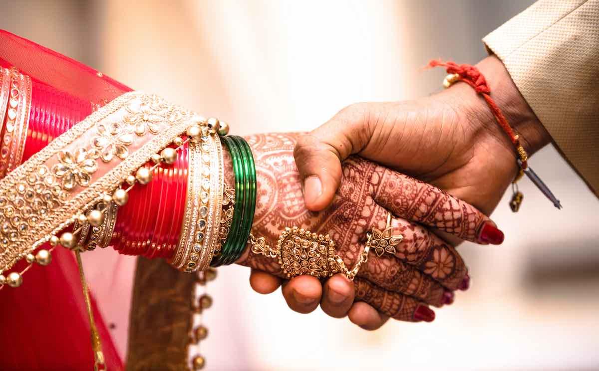 Couple amazing marriage