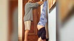 Pregnant Anushka Sharma Does a Headstand With Virat Kohli's Help, Should You Try Such Yoga Postures During Pregnancy? Here's What we Know