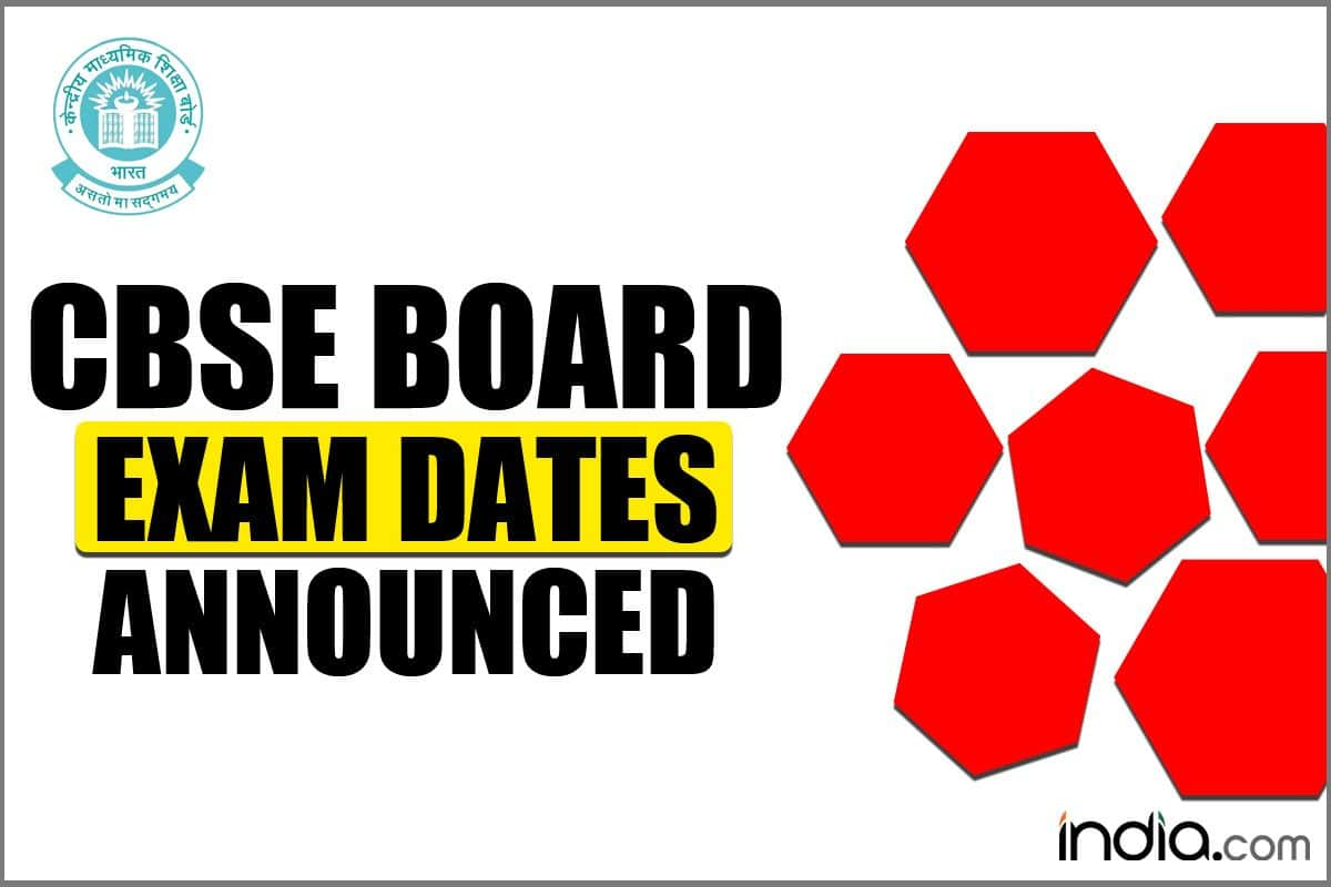 CBSE Board Class 10, 12 Exam 2021- Board Exams From May 4 to June 10, Results Around July 15