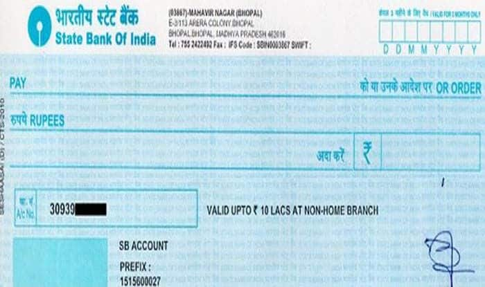 Cheque payment system