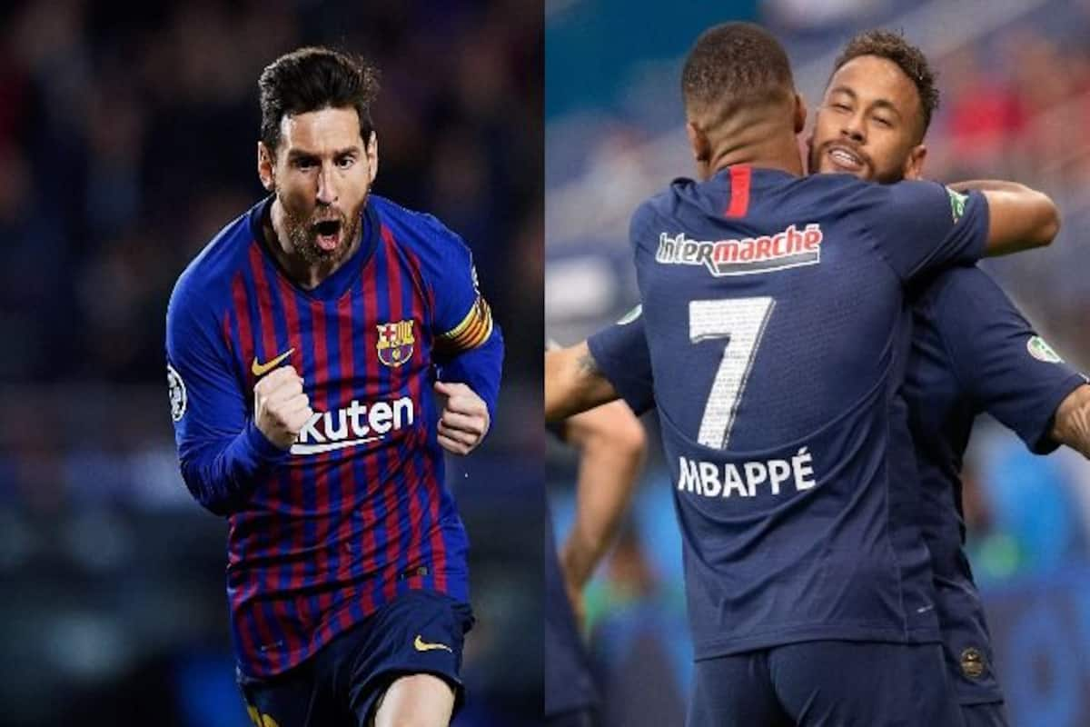 Barcelona Vs Paris Saint Germain Live Streaming Uefa Champions League 2020 21 In India When And Where To Watch Barca Vs Psg Live Football Match