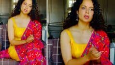 Kangana Ranaut Wears a 'Phulkari Dupatta', Uses Fashion to Make a Statement About Her Link With Punjab Amid Farmers' Protest