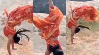 'Indian Women Are Superwomen': Woman Performs Impressive Backflips in a Saree & Stuns The Internet | Watch Viral Video