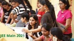 JEE Main 2021: Registration Process For March Session Begins at jeemain.nta.nic.in | Here's How to Apply