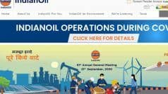 IOCL Apprentice Recruitment 2021: Registration For 346 Vacancies Ends Soon, Apply Via Direct Link Here