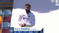 IND vs AUS: Rohit Sharma ने की मीडियम पेस बॉलिंग, Dinesh Karthik ने यूं लिए मजे