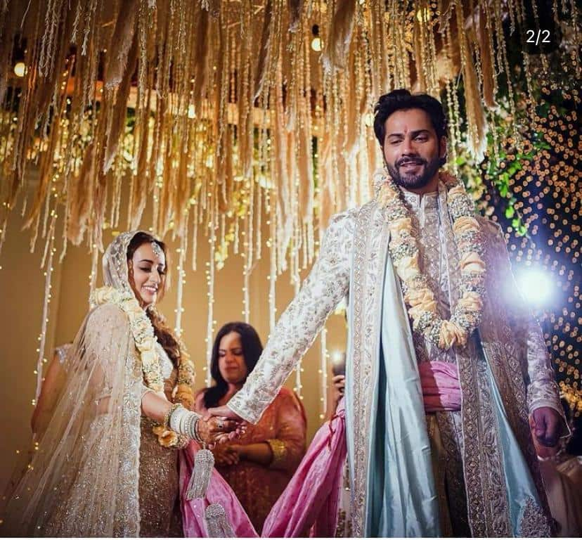 Varun Dhawan Natasha Dalal Marriage Photo