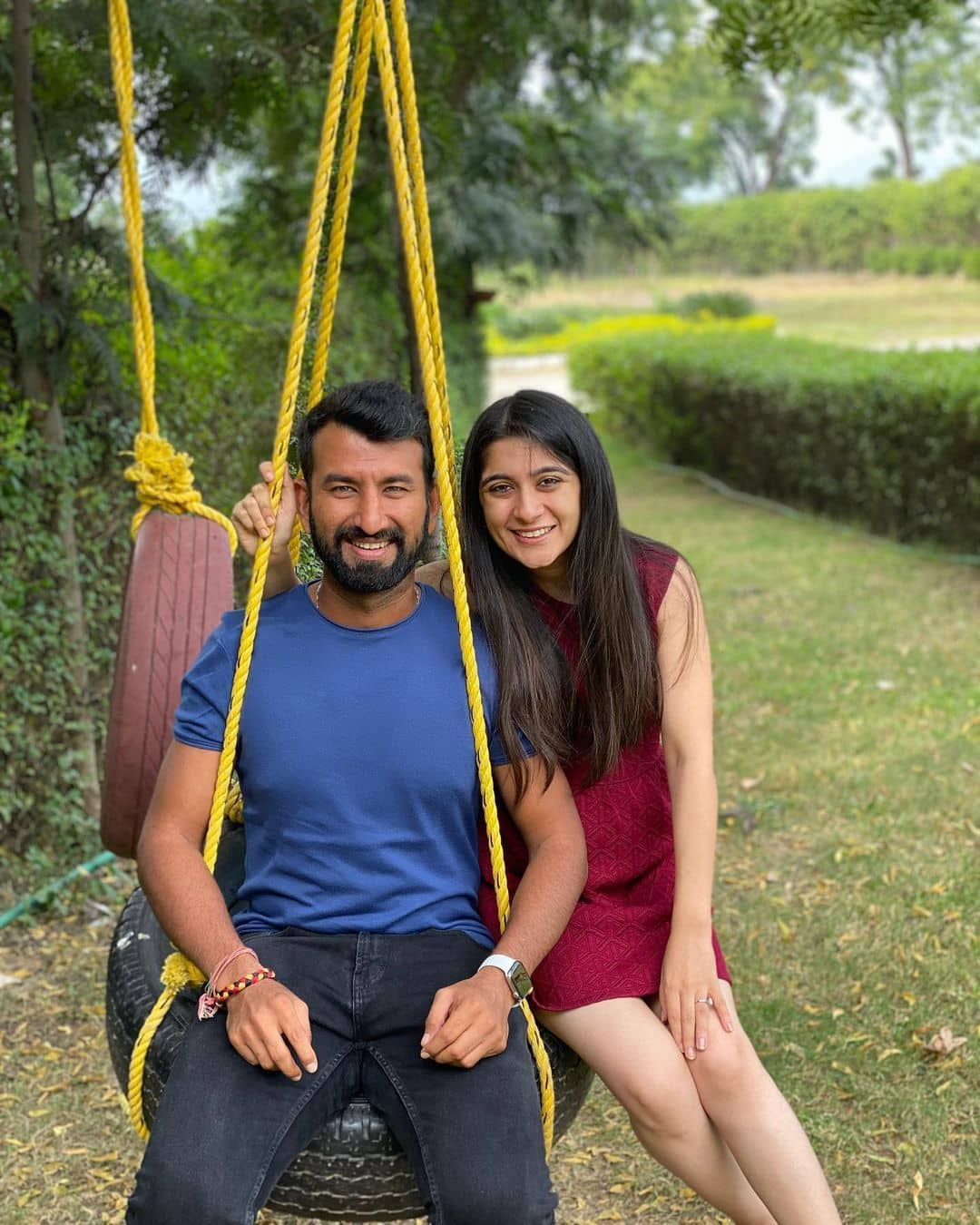Cheteshwar pujara wife puja pabari instagram photos 10