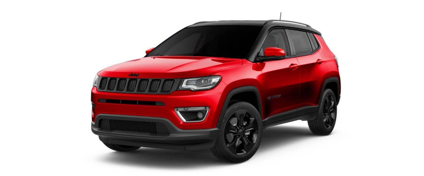 Jeep compass red night eagle