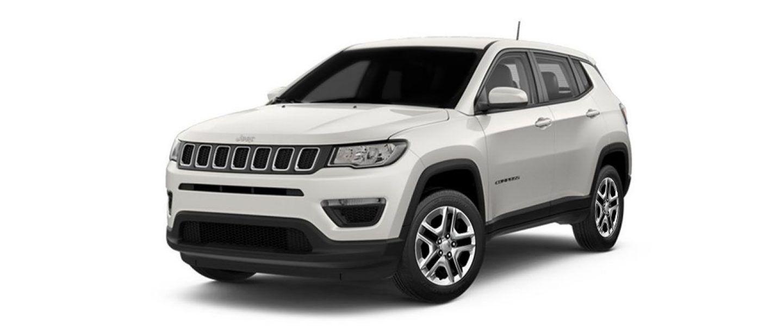 Jeep compass sport plus vocal white