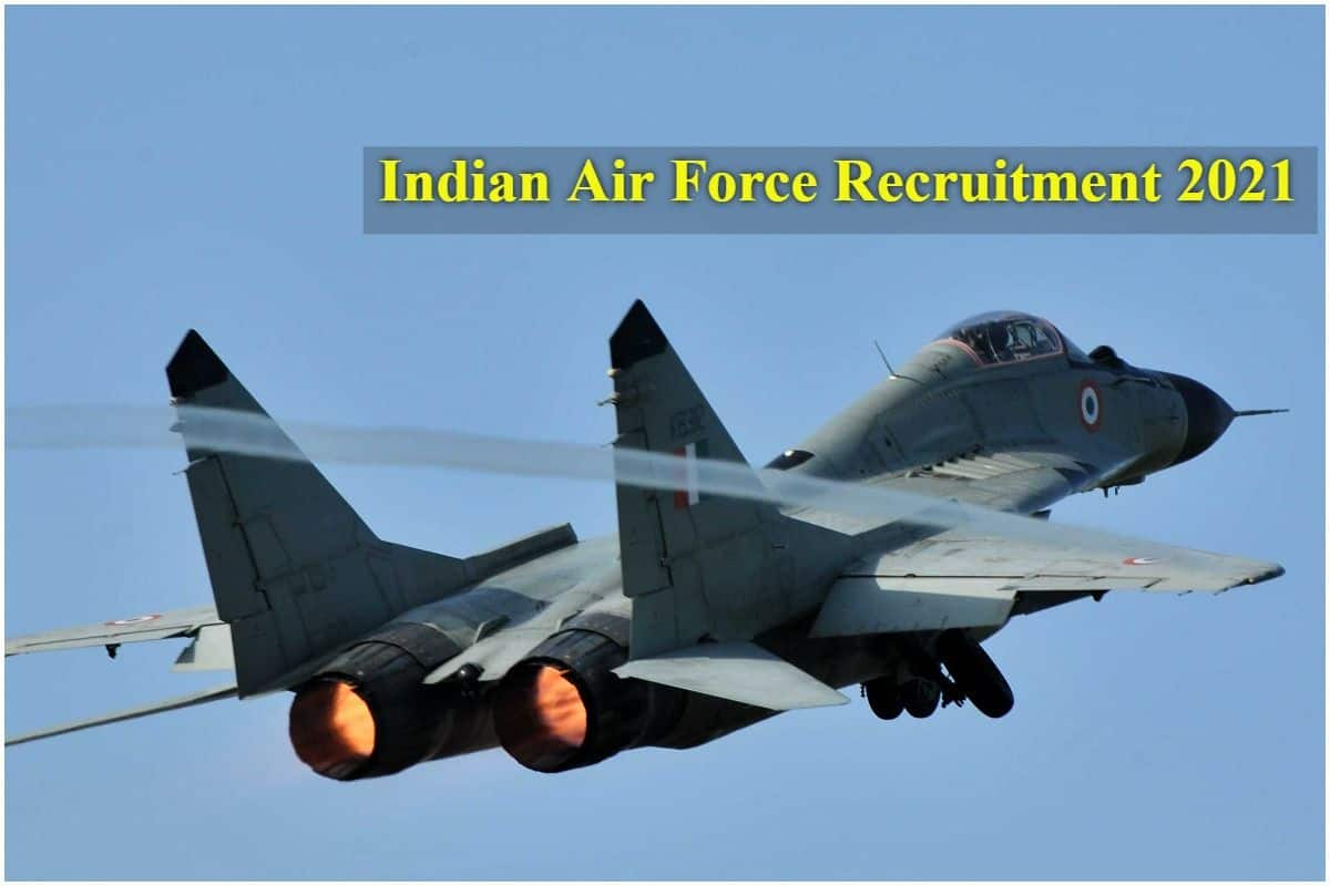 Golden Opportunity to Work as Airmen, 12th Pass Candidates Can Also Apply