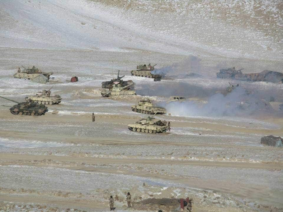 Withdrawal process of Indian and Chinese forces