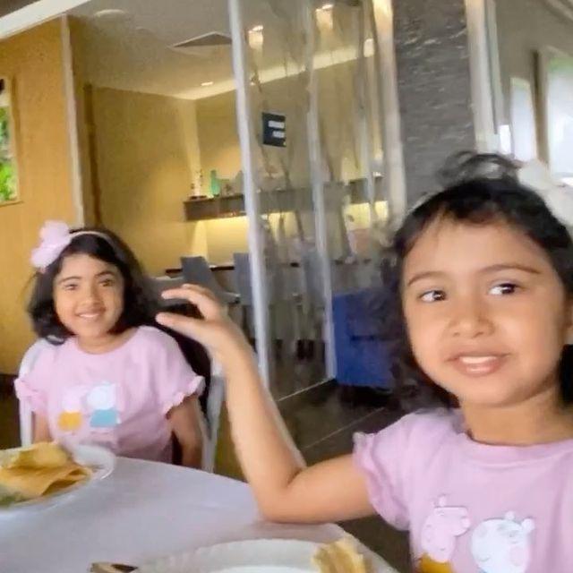 R Ashwin Daughters