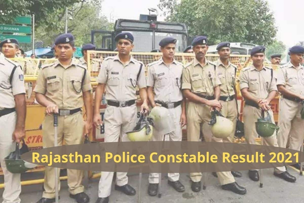 Rajasthan Police Constable Results Released on police.rajasthan.gov.in