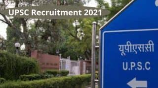 UPSC Recruitment 2021: Apply For 30 Vacancies at upsconline.nic.in Before March 22 | Details Here