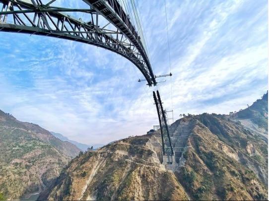 Chenab Bridge Pics: World's Highest Rail Bridge in Jammu & Kashmir is Ready And It's Stunning