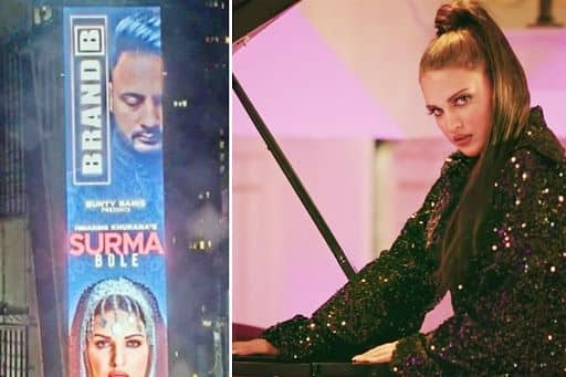 Himanshi Khurana Becomes First Female Punjabi Artist To Feature on New York's Times Square Billboard, Fans Re - India.com
