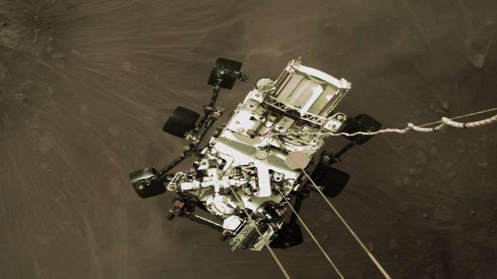 Video de aterrizaje del rover Perseverance de la NASA: