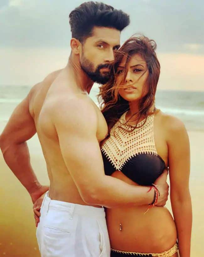 Nia Sharma says Ravi dubey is a best kisser during upcoming web series   see jamai 2 0 actress bold photoshoot