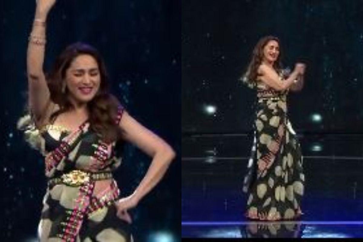 Madhuri Dixit Dances To 'Naino Mein Sapna' on Dance Deewane 3, Video Goes Viral | WATCH - India.com