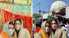 Sara Ali Khan Visits Ajmer Sharif With Mom Amrita Singh, Wishes Fans 'Jumma Mubarak'