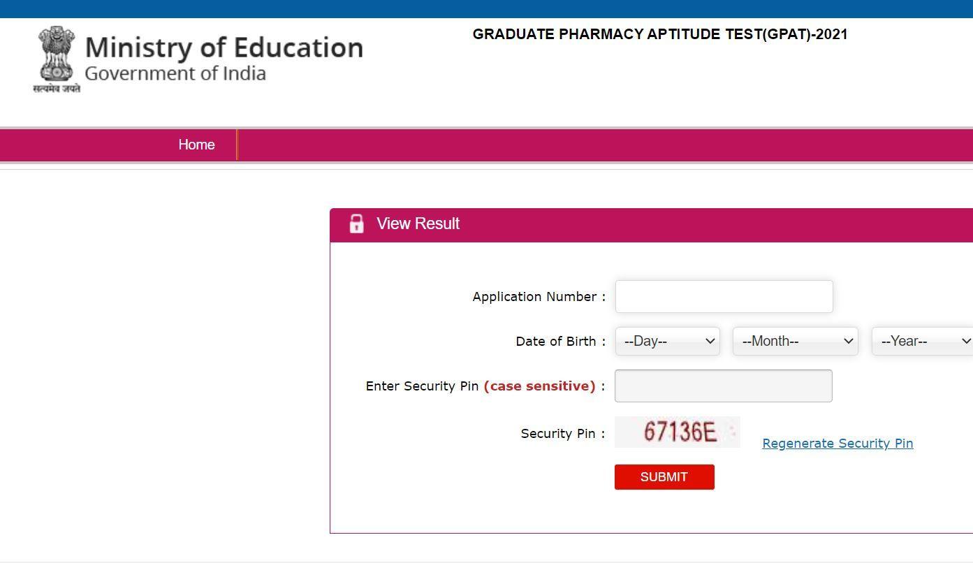 NTA GPAT 2021 Result Declared at gpat.nta.nic.in; Here's Direct Link to Check