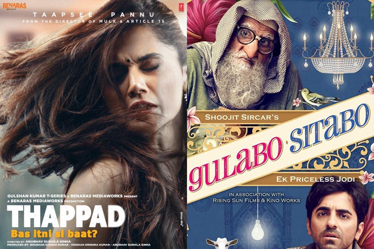 Thappad And Gulabo Sitabo Win Big, Take All Major Awards