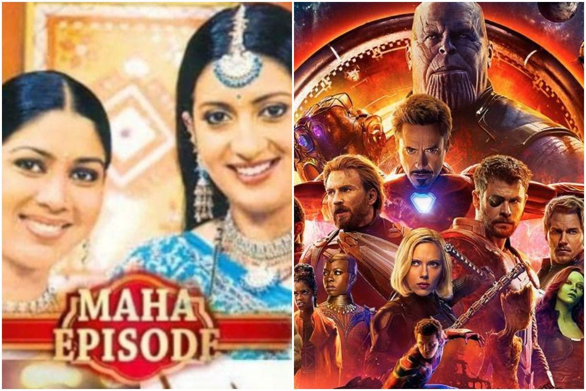 Ekta Kapoor Shares Meme Comparing Avengers Infinity War to 'Maha Episode' of Her Daily Soaps, Smriti Irani Reacts