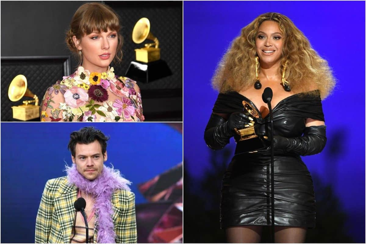Harry Styles Grabs His First Grammy, Beyonce Knowles Makes History