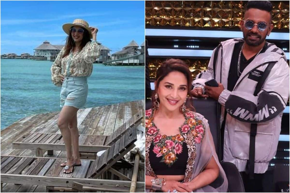 Madhuri Dixit Flies to Maldives After Testing Negative For COVID as 18 People Get Infected on Dance Deewane 3
