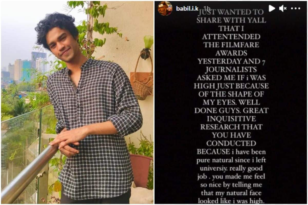 Irrfan Khan's Son Attends Filmfare Awards, But Seems Like Late Actor's Son is Disappointed, Here's Why