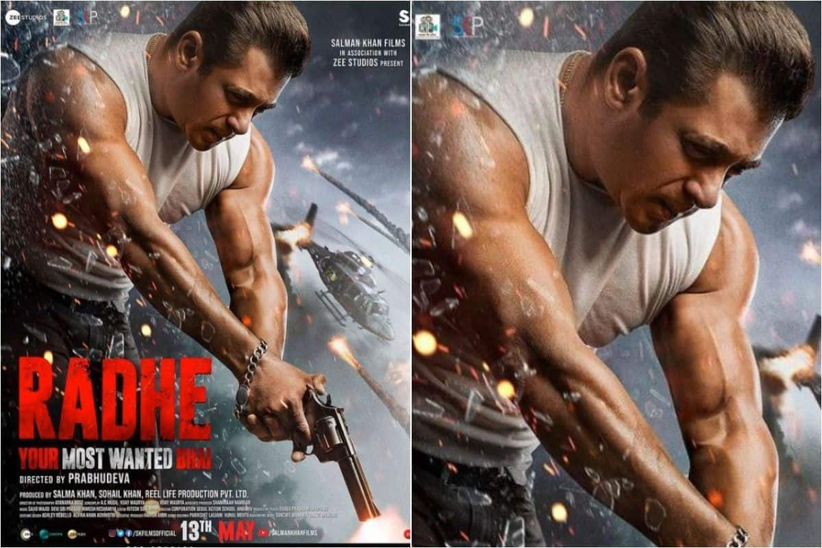 2 Months to Radhe! Your Most Wanted Bhai! Salman Khan Shares New Poster, Leaves Fan Excited With Release Date