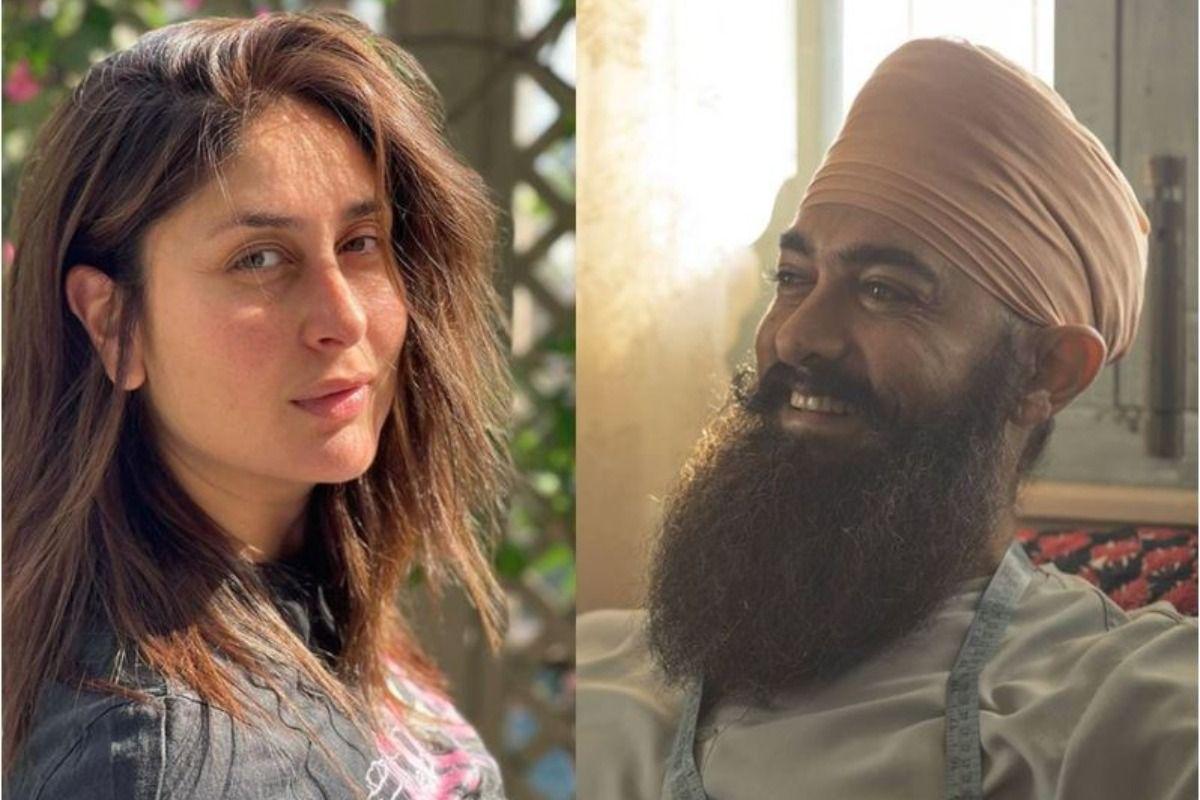 Kareena Kapoor Khan Wishes Aamir Khan by Sharing His New Look From Laal Singh Chaddha