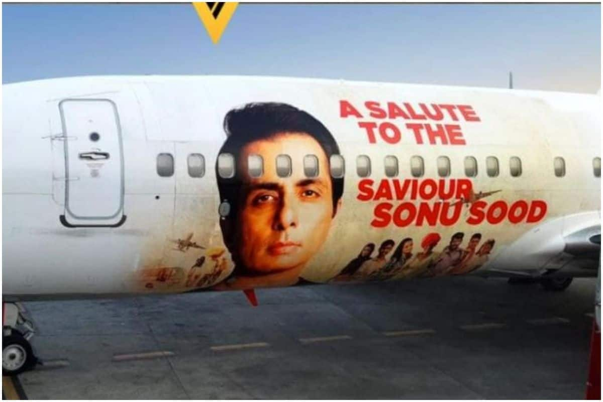 Sonu Sood Features on SpiceJet Boeing 737, Airline Salutes Messiah Wrapped in Special Livery