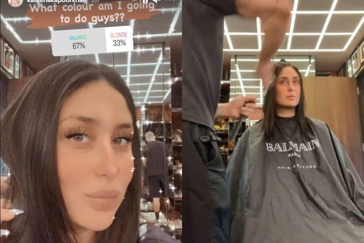 Kareena Kapoor Khan Goes For Hair Transformation, Asks Fans to Choose Colours Balayage or Blonde For Her- Viral Video