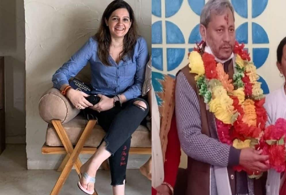 'Rip misogyny': Women flood Twitter with pics of them in ripped jeans after Uttarakhand CM's remark