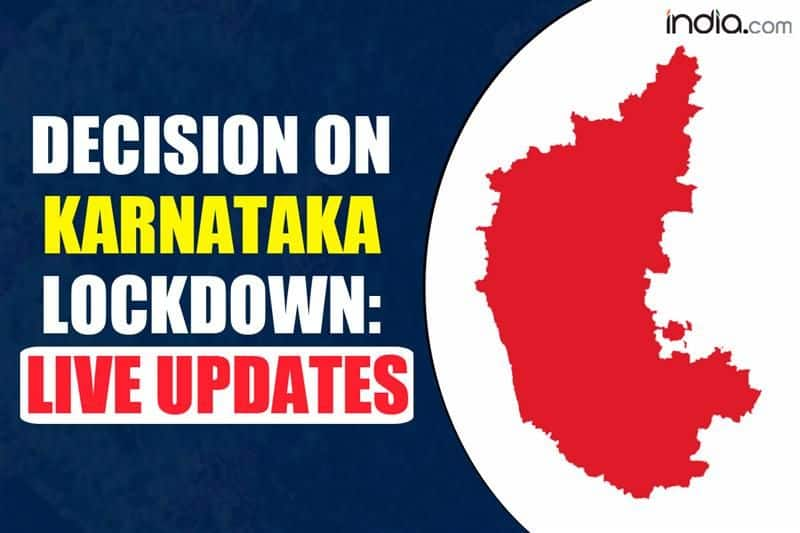 Lockdown-like Restrictions on All Days of Week? Karnataka Govt to Decide Today   LIVE Updates