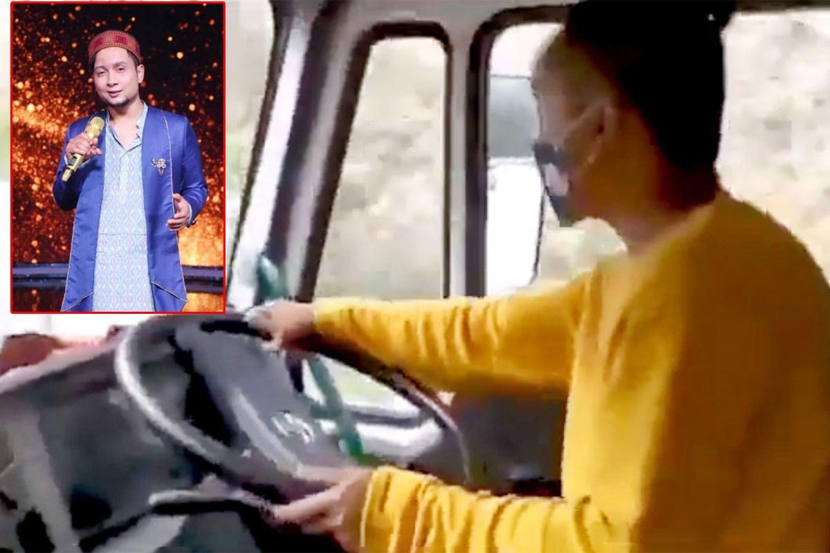 Indian Idol 12 Contestant Pawandeep Rajan Drives on Mountain Road, Video is Breaking Internet