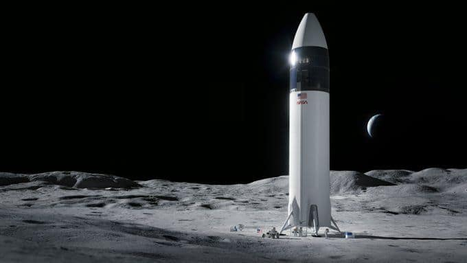 Elon Musk After SpaceX Wins .9 Billion Contract to Build Moon Lander