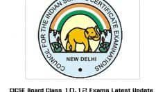 ICSE Board Exam For Class 10 And 12 Postponed Amid COVID Surge | Here's When Final Dates Will be Announced