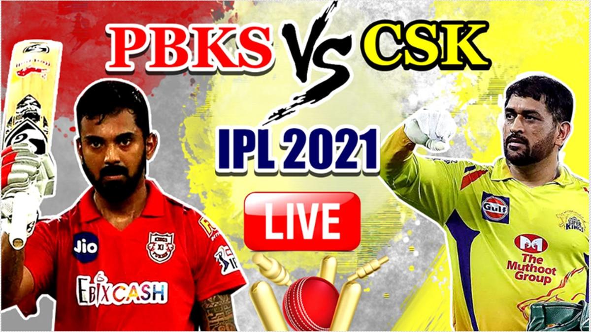 LIVE IPL 2021 PBKS vs CSK Live Cricket Score, Today's Match Updates: Deepak Chahar, Moeen Ali Star as Chennai - India.com