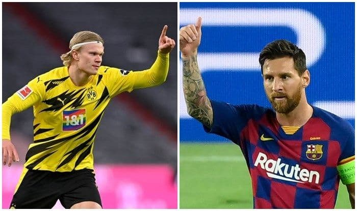 Football Transfer Rumours: Not Lionel Messi, Erling Haaland is Manchester City's Priority Now