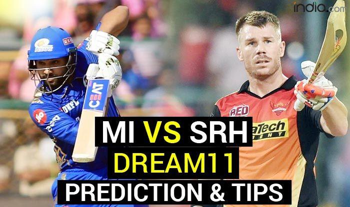 MI vs SRH Dream11 Team Prediction VIVO IPL 2021: Captain, Vice-Captain, Fantasy Playing Tips, Today's Probabl - India.com