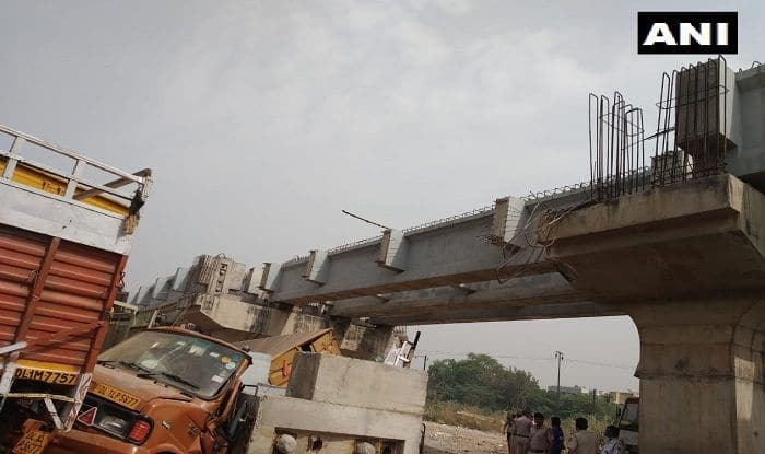 One Feared Trapped After Part of Under-construction Bridge Collapses in Delhi's Punjabi Bagh Area