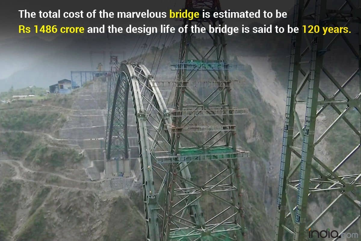 Chenab Arch: 5 Things You Must Know About World's Highest Rail Bridge Connecting Kashmir To Kanyakumari