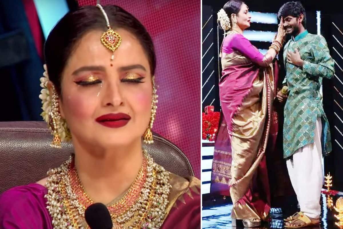 Rekha Gets Emotional After Sawai Bhatt's Lambi Judaai Performance