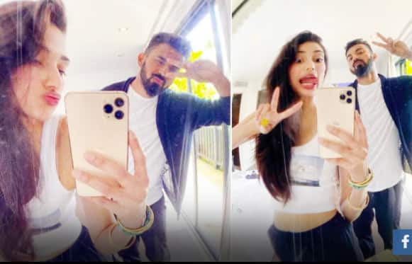 Athiya Shetty Wishes Boyfriend KL Rahul With a Goofy Post, Says \'Grateful For You\' | See Photos