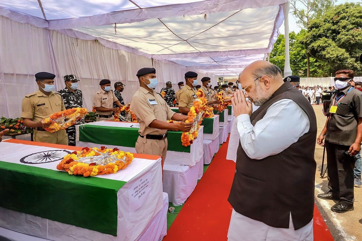 Amit Shah Pays Tribute to Jawans Killed in Chhattisgarh, Says Fight Against  Naxals To Be Intensified